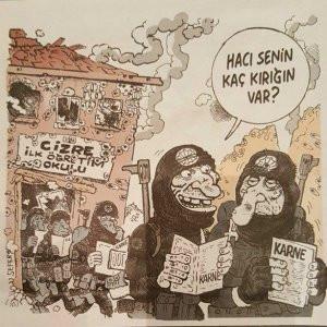 Leman'ın Cizre karikatüründe PKK propagandası iddiası