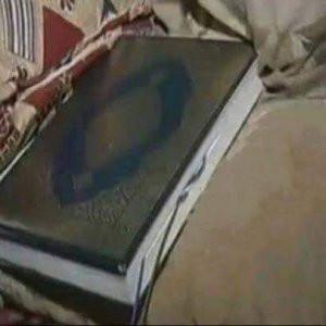 Allahsızlar ! Kuran-ı Kerim'in içine bomba koymuşlar
