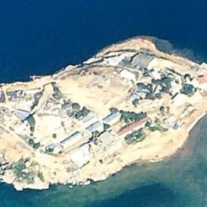 Yassıada artık ''şantiye ada'' !