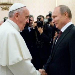 Papa'dan Putin'e çağrı