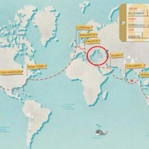 CNN'den skandal harita ! Türkiye yok