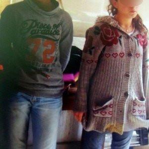 PKK'nın kız çocukları, erkek kılığında yakalandı !