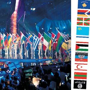 Eurovision'da bayrak skandalı