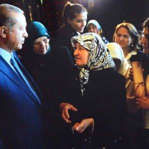 Erdoğan'dan o kadına sürpriz davet !