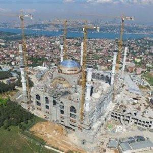 Çamlıca Camisi'nde ilk namaz yarın
