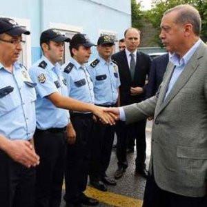 Erdoğan talimatı bayramlaşırken verdi