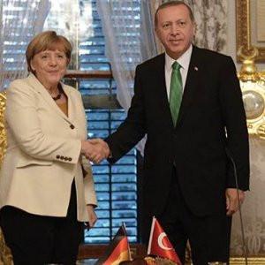 Erdoğan ve Merkel buluşmasından sonuç çıkmadı !