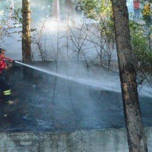 Dicle Üniversitesi'nde yangın !