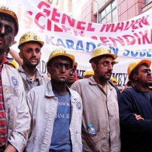 Özelleştirmeyi duyan madenciler ayağa kalktı !