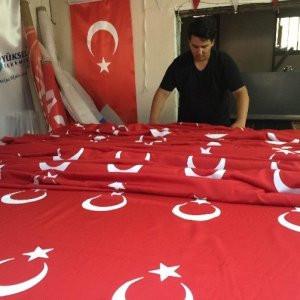 Türk bayrağı satışları patladı
