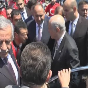 Devlet Bahçeli İstanbul'a geldi