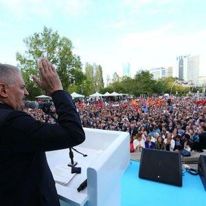 """AK Parti milletin ta kendisidir"""