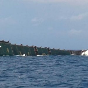 Türk gemisi Sicilya Adası'nda battı !