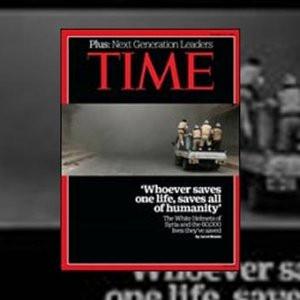 Time dergisi Kuran'dan bir ayeti manşet yaptı