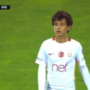 14 yaşındaki GS'li Mustafa Kapı tarihe geçti