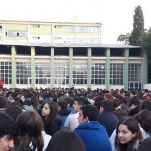 Kadıköy Anadolu Lisesi eylemde