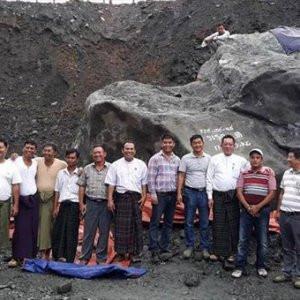 175 tonluk yeşim taşı bulundu