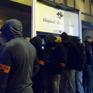 Fransa'da polisler eylem yaptı