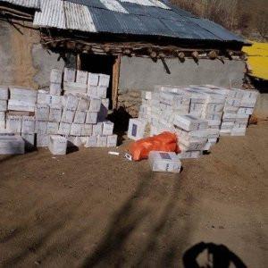 Hakkari'de 5 milyon kaçak sigara paketi yakalandı