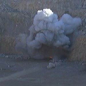 Terör örgütünün patlayıcısı böyle imha edildi