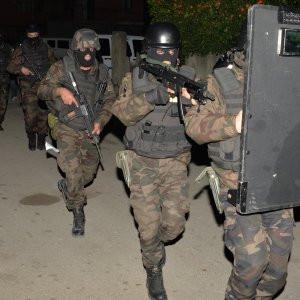 Kundakçı teröristlere operasyon anı kamerada