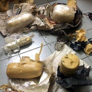 Suriye sınırında patlayıcı ele geçirildi