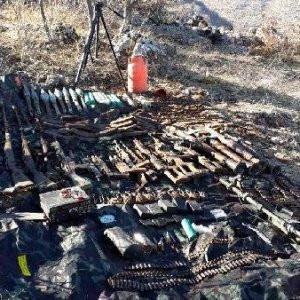 Batman'da PKK'nın silahları bulundu !