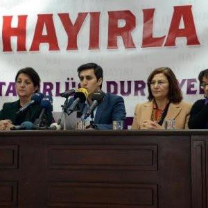 Diyarbakır'da HDP'den ''hayır''...