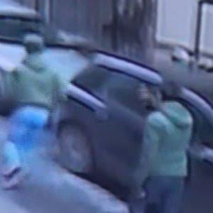 Cihangir'de silahlı kavga kamerada