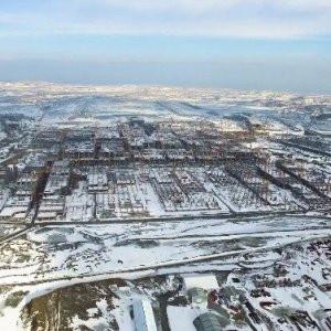 3. Havalimanı işçileri kar kış dinlemedi