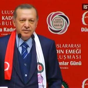 Erdoğan: ''16 Nisan tezgahı bozma günüdür''