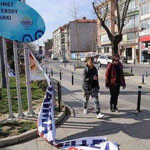 Bu kez AK Parti saldırıya uğradı