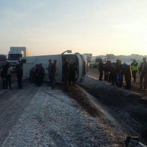 Korkunç kaza: 12 yaralı var