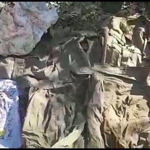 Batman'da PKK'ya ait 2 sığınak bulundu