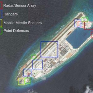 Güney Çin Denizi'nde olay yaratacak görüntüler