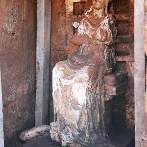 Kibele heykelinin çıkarıldığı maden ocağı durduruldu
