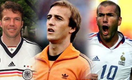 Dünyanın en iyi 10 futbolcusu