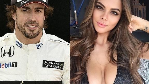 Fernando Alonso'nun, 21 yaşındaki yeni aşkı