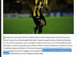 Wolfsburg'un Gomez için ödediği para
