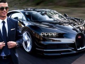 Ronaldo'nun yeri arabası 2.4 milyon Euro !