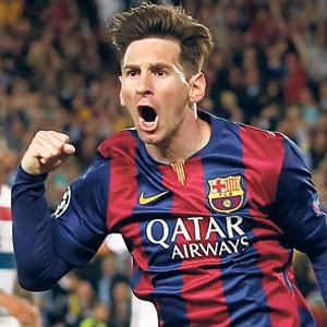 Lionel Messi affetmedi