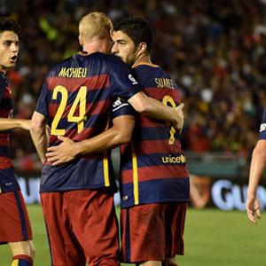 Arda'sız Barcelona Galaxy'yi yendi !