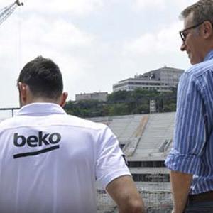 Yeni transfer Arena'yı görünce..