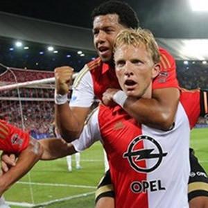 Kuyt ve Kazım attı, Feyenoord kazandı