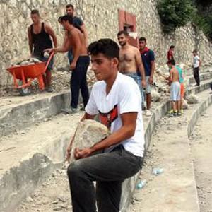 Zonguldak Kömürspor taraftarından örnek davranış