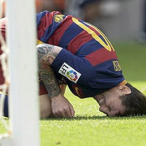 Barcelona'da Messi depremi !