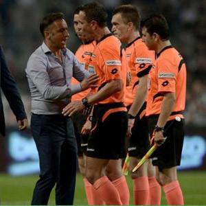 Halis Özkahya'ya Lazio-Saint Etienne maçı verildi