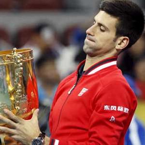 Dev maçta zafer Djokovic'in