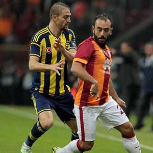 Galatasaray Fenerbahçe'ye fark attı