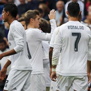 Real Madrid averajla lider...